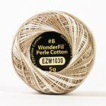 Wonderfil Eleganza, Linen (EL5GM1030)  8wt Cotton Thread 5g balls by Wonderfil Eleganza Perle 8 Balls Eleganza 8wt Cotton - OzQuilts