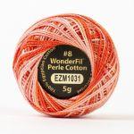 Wonderfil Eleganza, Opera House (EL5GM1031)  8wt Cotton Thread 5g balls by Wonderfil Eleganza Perle 8 Balls Eleganza 8wt Cotton - OzQuilts