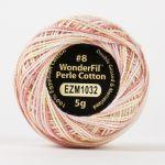 Wonderfil Eleganza, Dollhouse (EL5GM1032)  8wt Cotton Thread 5g balls by Wonderfil Eleganza Perle 8 Balls Eleganza 8wt Cotton - OzQuilts
