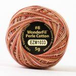 Wonderfil Eleganza, Carpenter (EL5GM1033)  8wt Cotton Thread 5g balls by Wonderfil Eleganza Perle 8 Balls Eleganza 8wt Cotton - OzQuilts