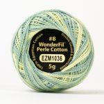 Wonderfil Eleganza, Pastel Landscape (EL5GM1036)  8wt Cotton Thread 5g balls by Wonderfil Eleganza Perle 8 Balls Eleganza 8wt Cotton - OzQuilts