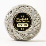 Wonderfil Eleganza, Shield Bearer (EL5GM1037)  8wt Cotton Thread 5g balls by Wonderfil Eleganza Perle 8 Balls Eleganza 8wt Cotton - OzQuilts