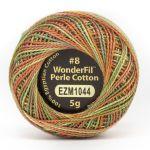 Wonderfil Eleganza, Fall Bounty (EL5GM1044)  8wt Cotton Thread 5g balls by Wonderfil Eleganza Perle 8 Balls Eleganza 8wt Cotton - OzQuilts