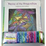 Dance of the Dragonfly Quilt Kit in Opal by JoAnn Hoffman Kits - OzQuilts