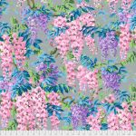 Wisteria - Grey by The Kaffe Fassett Collective Wisteria - OzQuilts