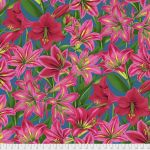 Amaryllis - Red by The Kaffe Fassett Collective Amaryllis  - OzQuilts