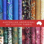 Aboriginal Art Fabric 20 Fat Quarter Bundle J by M & S Textiles Fat Quarter Packs - OzQuilts
