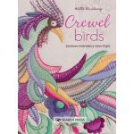 Crewel Birds Jacobean Embroidery takes flight by Search Press Embroidery - OzQuilts