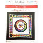 Jacqueline De Jonge Happiness 2.0 Quilt Fabric Kit (No pattern) by BeColourful Quilts by Jacqueline de Jongue Kits - OzQuilts