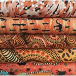Aboriginal Art Fabric 20 Fat Quarter Bundle L by M & S Textiles Fat Quarter Packs - OzQuilts