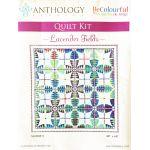Jacqueline De Jonge Lavender Fields Quilt Fabric Kit (No Pattern) by BeColourful Quilts by Jacqueline de Jongue Kits - OzQuilts