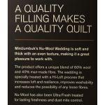 Nu-wool 60% Wool 40% Polyester Batting, 30 metres x 1.5 metres by Nu-Wool Wadding Bulk Rolls of Batting - OzQuilts
