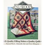 Nu-wool 60% Wool 40% Polyester Batting, 30 metres x 1.5 metres by Nu-Wool Wadding Bulk Rolls of Batting - OzQuilts