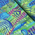 Feathers - Green by The Kaffe Fassett Collective Feathers - OzQuilts