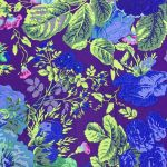 Gradi Floral - Purple by The Kaffe Fassett Collective Gradi Flora - OzQuilts