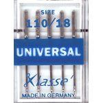 Klasse Universal Machine Needles Size 110/18 by Klasse Sewing Machines Needles - OzQuilts