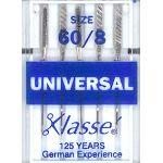 Klasse Universal Machine Needles Size 60/8 by Klasse Sewing Machines Needles - OzQuilts