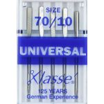 Klasse Universal Machine Needles Size 70/10 by Klasse Sewing Machines Needles - OzQuilts