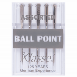 Klasse Ball Point Machine Needles Assorted Sizes by Klasse Sewing Machines Needles - OzQuilts