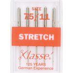 Klasse Stretch Machine Needles Size 75/11 by Klasse Sewing Machines Needles - OzQuilts