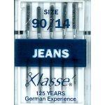 Klasse Jeans Machine Needles Size 90/14 by Klasse Sewing Machines Needles - OzQuilts