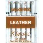 Klasse Leather Machine Needles Assorted Sizes by Klasse Sewing Machines Needles - OzQuilts