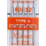 Klasse Machine Overlocker Needles Type A by Klasse Sewing Machines Needles - OzQuilts
