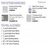 Liberty Runner Cut Loose Press Pattern by Cut Loose Press Patterns Quilt Patterns - OzQuilts