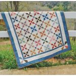 Kitty Cornered Chain Cut Loose Press Pattern by Cut Loose Press Patterns Quilt Patterns - OzQuilts