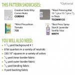 Kitty Cornered Chain Cut Loose Press Pattern by Cut Loose Press Patterns Quilt Patterns - OzQuilts