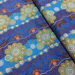 Home Country Blue by Tamara Murray May by M & S Textiles Cut from the Bolt - OzQuilts