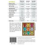 Antonia Tiger  Quilt Kit by Elizabeth Hartman - includes Pattern, Fabric & Binding by Elizabeth Hartman Kits - OzQuilts