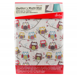 Quilter's 4-in-1 Multi Mat - Owls by Sew Easy Cutting Mats - OzQuilts