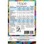 Hope Quilt Pattern by Gudrun Erla by G. E. Designs Quilt Patterns - OzQuilts