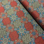 Wildflowers & Bush Tuckers Red by Christine Doolan by M & S Textiles Cut from the Bolt - OzQuilts