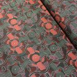 Rain Dreaming Red by Audrey Nungarrai by M & S Textiles Cut from the Bolt - OzQuilts