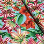 Amaryllis - Natural by The Kaffe Fassett Collective Amaryllis  - OzQuilts