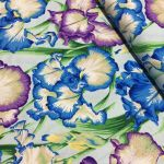 Bearded Iris - Cool by The Kaffe Fassett Collective Bearded Iris  - OzQuilts