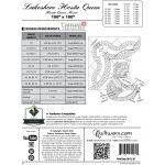 Lakeshore Hosta Queen Size Pattern & Foundation Papers by Quiltworx Judy Niemeyer Quiltworx - OzQuilts
