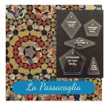 "La Passacaglia Template Set from Millefiori Quilts - Traditional Set in 2½"" Size by OzQuilts by  Millefiori Book 1 & Templates - OzQuilts"