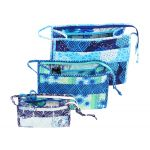 Open Wide Handy Zippered Bags 2.0 Pattern by Annie Unrein by ByAnnie Bag Patterns - OzQuilts