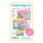 Project Bags Pattern 2.0 by Annie Unrein by ByAnnie Bag Patterns - OzQuilts