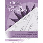 Circle Framing paper Template by Cheryl Phillips by Phillips Fiber Art Specialty Rulers - OzQuilts