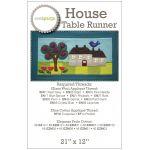 House Table Runner Pattern by Sue Spargo by Sue Spargo Sue Spargo - OzQuilts