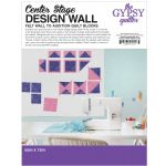 "Center Stage Design Wall White 60"" x 72"" by The Gypsy Quilter by The Gypsy Quilter Colour & Design Tools - OzQuilts"
