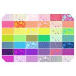 Tula Pink True Colors 42 Fat Quarters Pack by Tula Pink Fat Quarter Packs - OzQuilts