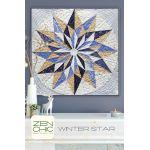 Winter Star Quilt Pattern by Zen Chic by Zen Chic Quilt Patterns - OzQuilts