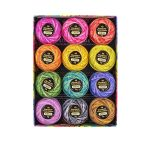 Eleganza Perle 8 Cotton Thread Alison Glass Collection - Stars (Variegated) by  Eleganza 8wt Cotton - OzQuilts
