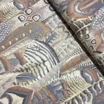 Feathers - Grey by The Kaffe Fassett Collective Feathers - OzQuilts