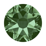 Swarovski Hotfix Flatback Crystals Erinite SS10 by Swarovski Stone Size SS10 & SS12 (2.8-3.2mm) - OzQuilts